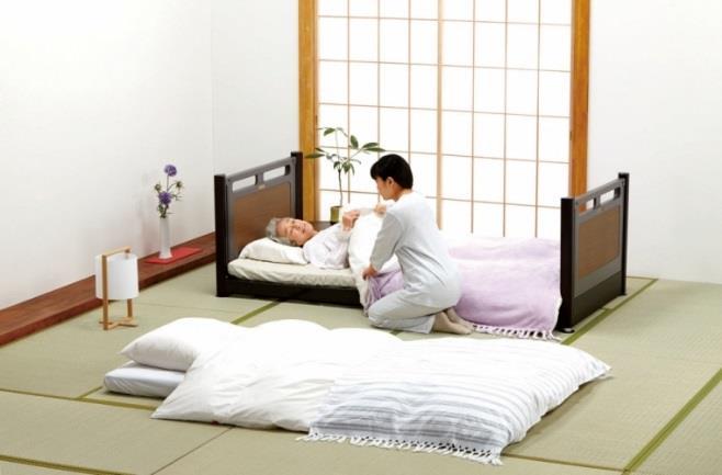 超低床リクライニングベッド